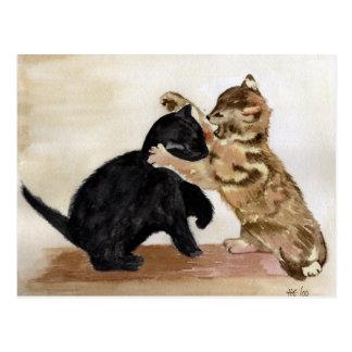 Kitty Kats Postcard
