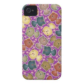 Kitty Kats Purple BlackBerry Bold Case
