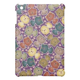 Kitty Kats Purple  Case For The iPad Mini