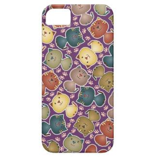 Kitty Kats Purple iPhone 5 Case