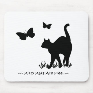 Kitty Kats R Free Cat T Shirt n More Mouse Pad