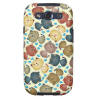 Kitty Kats Samsung Galaxy S Case Galaxy S3 Covers