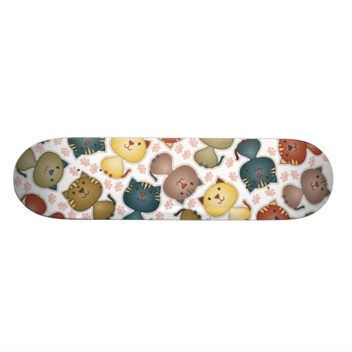 Kitty Kats Skateboard