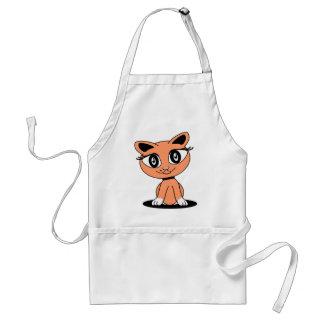 Kitty Katz - Orange Aprons