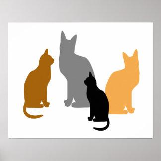 Kitty Kids Poster