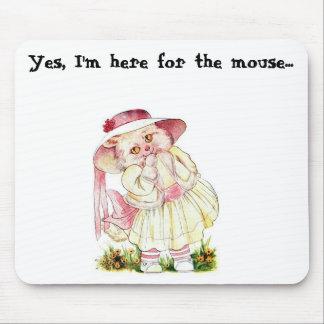 Kitty Kittleton Mouse Pad