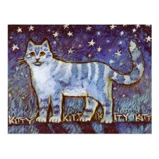 Kitty Kitty Kitty! Postcard