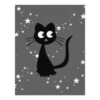 """Kitty Kuro 8.5"""" X 11"""" Flyer"""