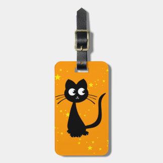 Kitty Kuro Bag Tag