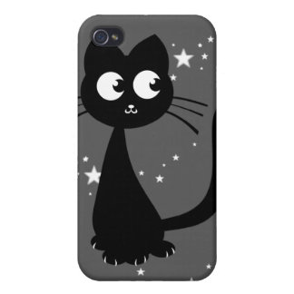Kitty Kuro Grey Cover For iPhone 4