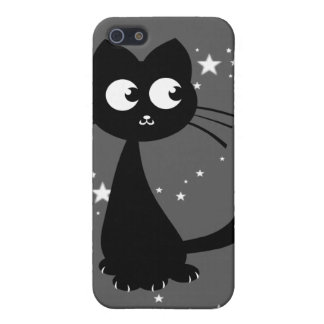 Kitty Kuro Grey Cover For iPhone SE/5/5s