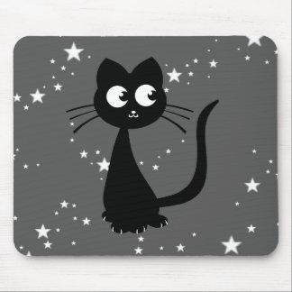 Kitty Kuro Grey Mouse Pad