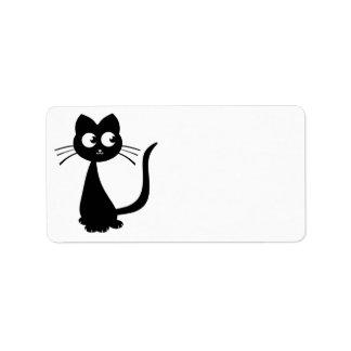 Kitty Kuro Personalized Address Label