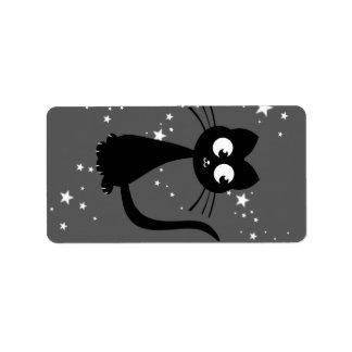 Kitty Kuro Custom Address Labels
