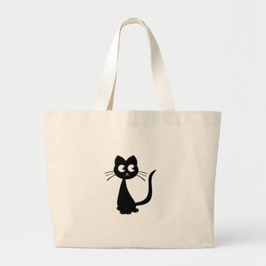 Kitty Kuro Large Tote Bag