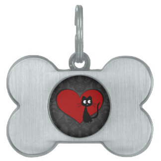 Kitty Kuro Love II Pet Tag