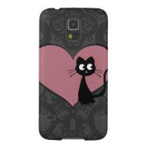 Kitty Kuro Love V Galaxy S5 Cover