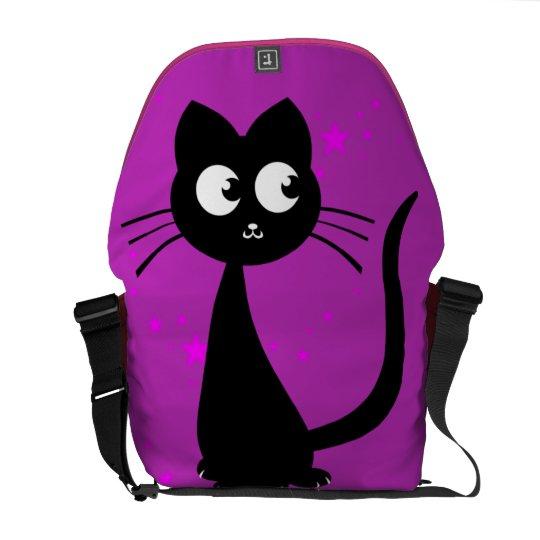 Kitty Kuro Messenger Bag