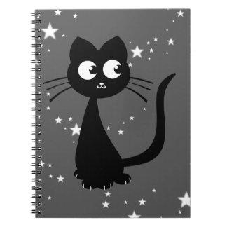 Kitty Kuro Spiral Note Books