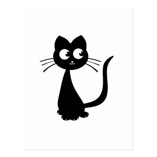 Kitty Kuro Postcard