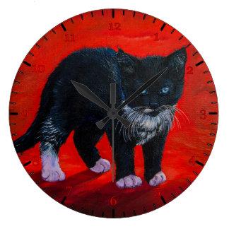 Kitty Large Clock