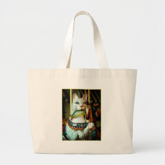 Kitty Large Tote Bag