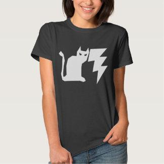 Kitty Lectro Gothic Lightning Cat T-shirt