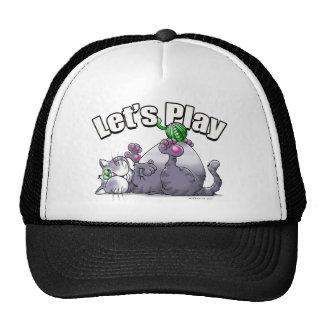 Kitty Let's Play Trucker Hat