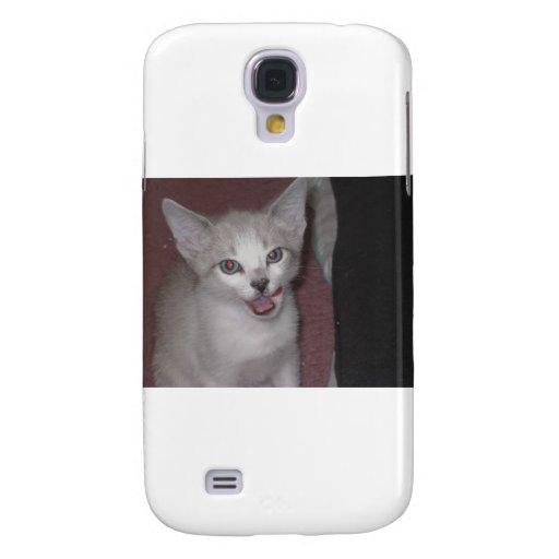 Kitty Lickin' Her Lips Galaxy S4 Case