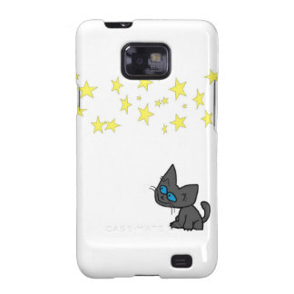 Kitty Looking At The Stars Galaxy SII Cover