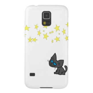 Kitty Looking At The Stars Galaxy Nexus Cover