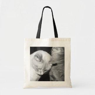Kitty Love Budget Tote Bag