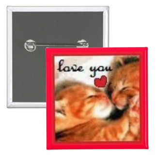 Kitty Love Buttons