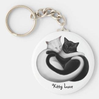 Kitty Love Cat Keychain