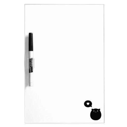 Kitty Love Dry Erase Whiteboards