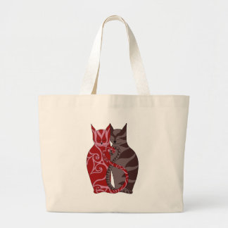 Kitty Love Large Tote Bag