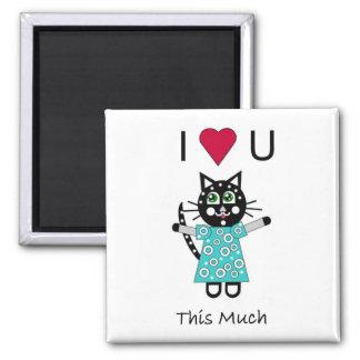 Kitty Love Magnet