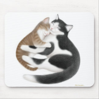 Kitty Love Mousepad