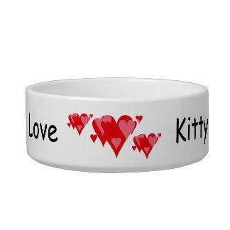 Kitty Love Pet Bowls