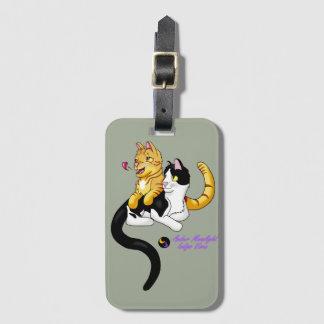 Kitty Love w logo Luggage Tag