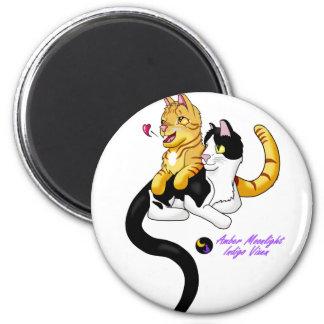 Kitty Love w logo Magnet