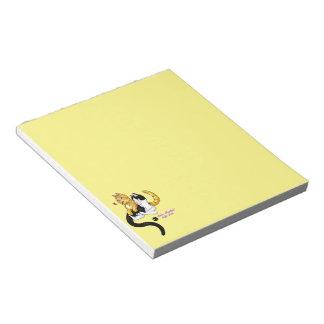 Kitty Love w logo Notepad