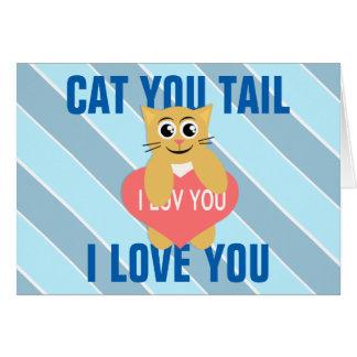 Kitty Loves Valentine's Day Card