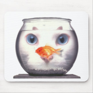 Kitty Lunch Mouse Pad