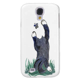Kitty Makes a Stretching Leap toward Flutter-by Samsung S4 Case