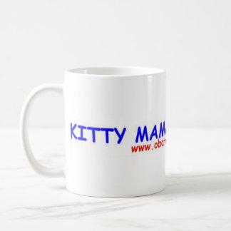 Kitty Mama for Obama Coffee Mugs