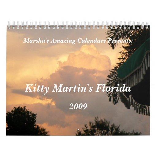 Kitty Martin's Florida Calendars