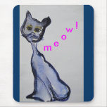 Kitty Meow! Mouse Pad