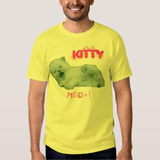 Kitty meow! t shirts