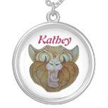 Kitty Name Necklace